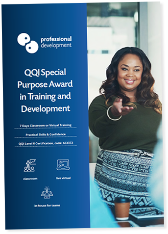 QQI Special Purpose Award Brochure