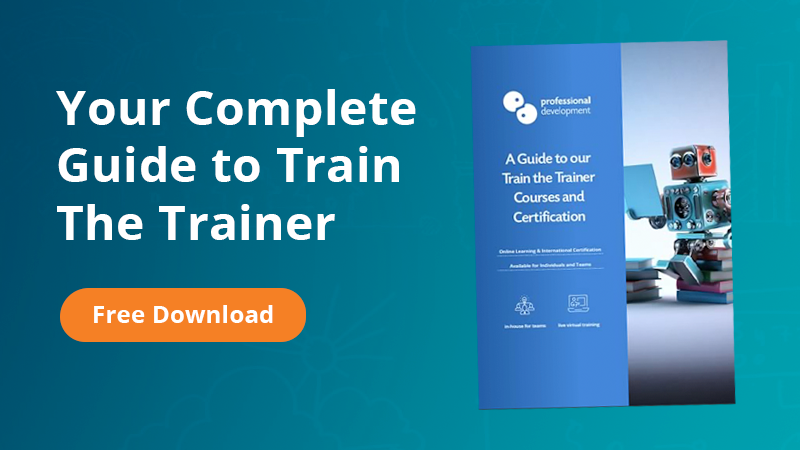 Train The Trainer Course Guide