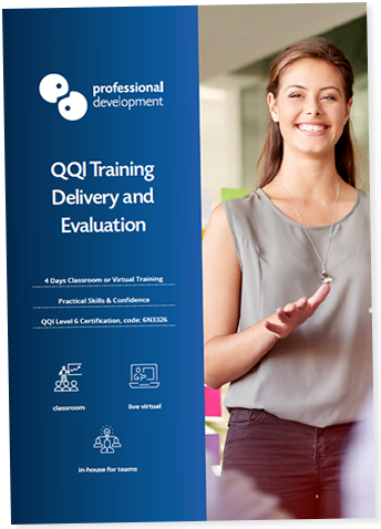 Training Delivery and Evaluation Course Brochure